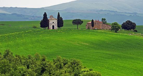 Cappella della Madonna di Vitaleta - San quirico d'orcia (3508 clic)