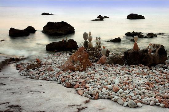 Spiaggia Sassi Neri 2 - Sirolo (8597 clic)