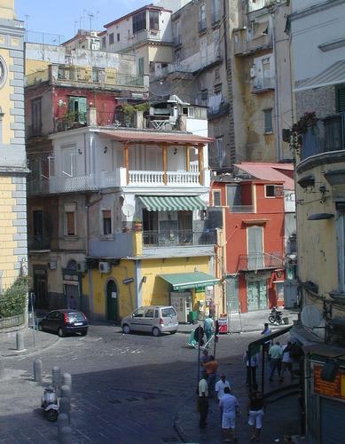 Architettura fantasiosa - Napoli (1744 clic)