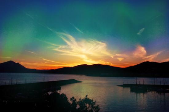 Al tramonto dal golfo di sapri (3489 clic)