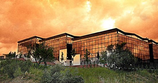 EDIFICIO BIBLIOTECHE - UNIVERSITA' DELLA CALABRIA - Rende (3404 clic)