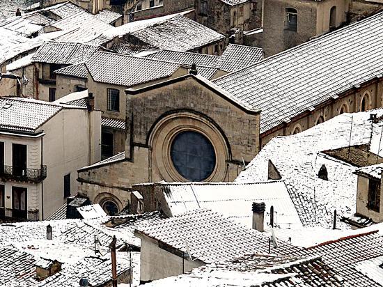 Tetti innevati - Cosenza (1120 clic)