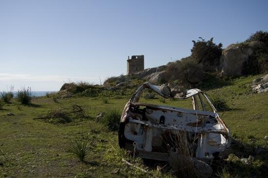 landart alla torre di Manfria - Gela (6383 clic)