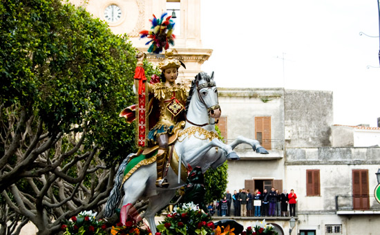 san giorgio in processione - Modica (3359 clic)