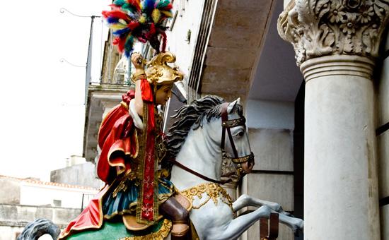 san giorgio in processione - Modica (6401 clic)