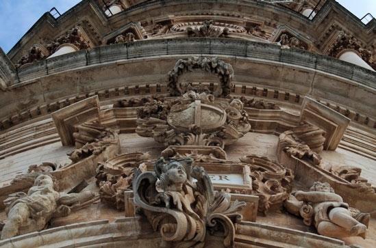 particolare barocco - MODICA - inserita il 08-Jan-08