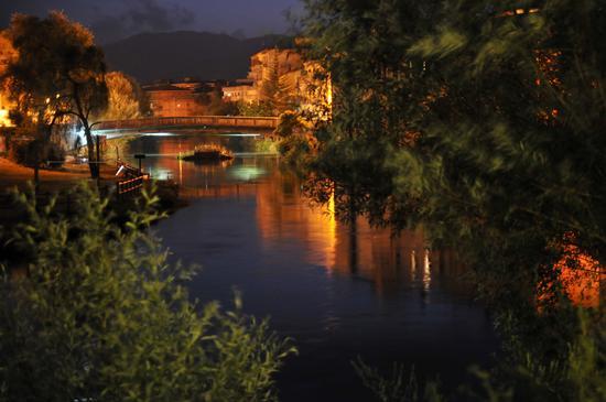 Fiume velino e ponte Romano - Rieti (2955 clic)