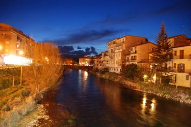 Fiume Velino - Rieti (4500 clic)