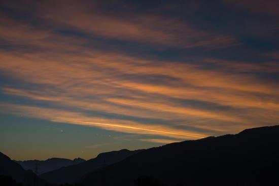 l'alba vista da Seo fraz di Stenico (839 clic)