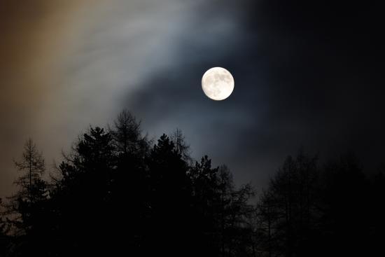 al chiaror di luna - San lorenzo in banale (794 clic)