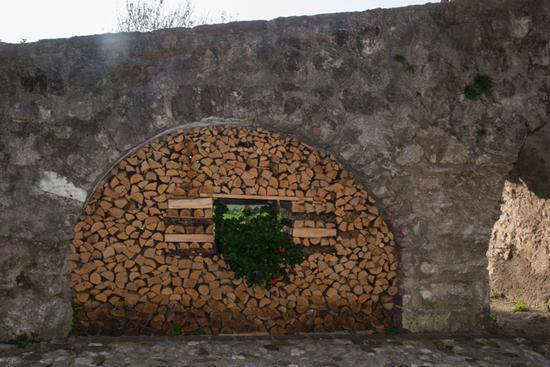 scorcio della frazione Berghi - San lorenzo in banale (723 clic)
