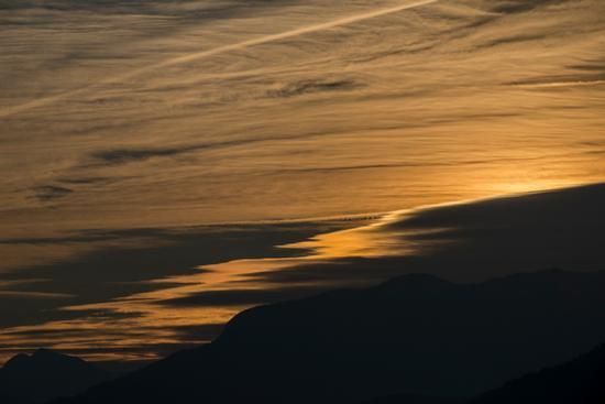 alba vista da Seo fraz di Stenico - STENICO - inserita il 13-Oct-14