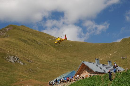 soccorso a Malga Valandro - Stenico (2599 clic)