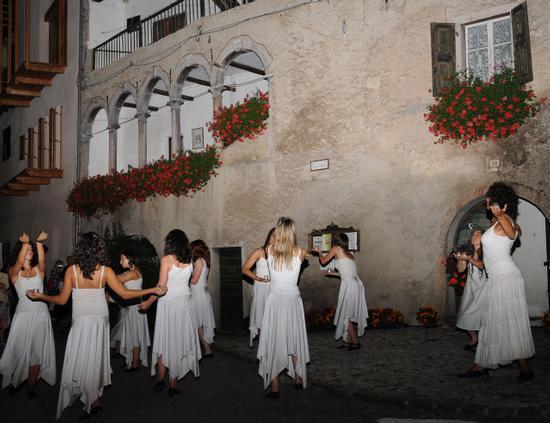 manifestazione nella frazione di prusa - San lorenzo in banale (1731 clic)