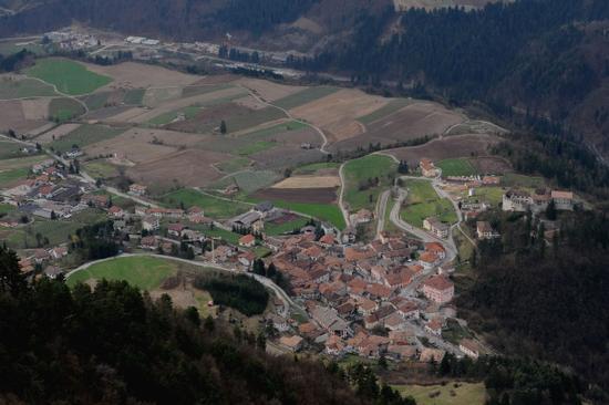 vista dall'alto di Stenico (2350 clic)