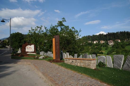 entrata a San Lorenzo in Banale (1576 clic)