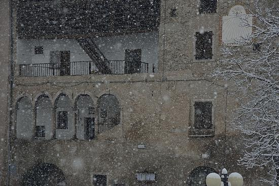 l'ultima nevicata - San lorenzo in banale (1027 clic)