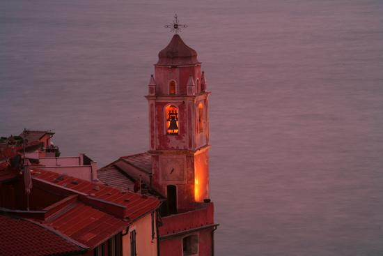 campanile - Tellaro (2773 clic)