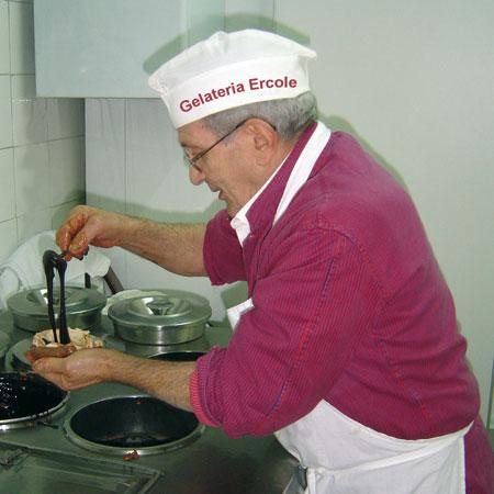 Preparazione Tartufo di Pizzo Calabro (4533 clic)