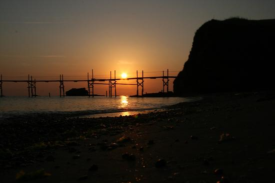 L'alba a Punta Aderci - Vasto (3311 clic)