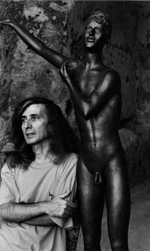 Il giovane che declama (1937) opera di Pericle Fazzini (1913-1987)  - Matera (928 clic)