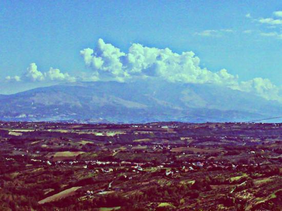 Panorama dal terrazzo - Villa celiera (893 clic)
