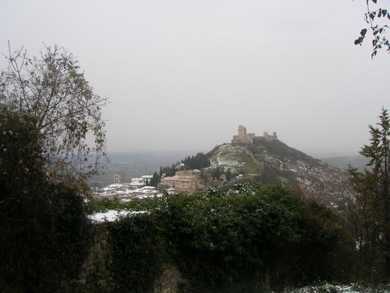 Inverno ad Assisi (2561 clic)