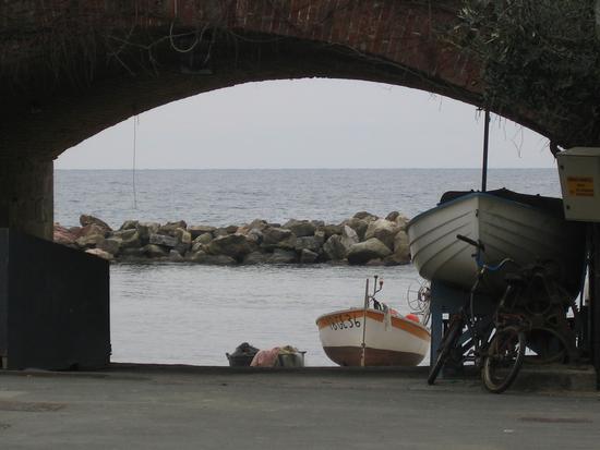 Sguardo dal ponte - Moneglia (2117 clic)