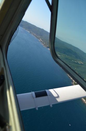 Dal finestrino di un Cessna - Cecina mare (1231 clic)