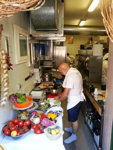 La cucina del Gambero Rosso - Vernazza (1239 clic)