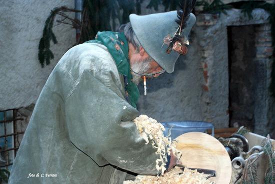TORNITORE NE PRESEPIO VIVENTE IN OREZZO (1264 clic)