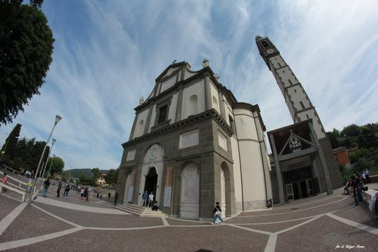 PARROCCHIA SAN G. BATTISTA  (SOTTO IL MONTE) - Sotto il monte giovanni xxiii (1150 clic)