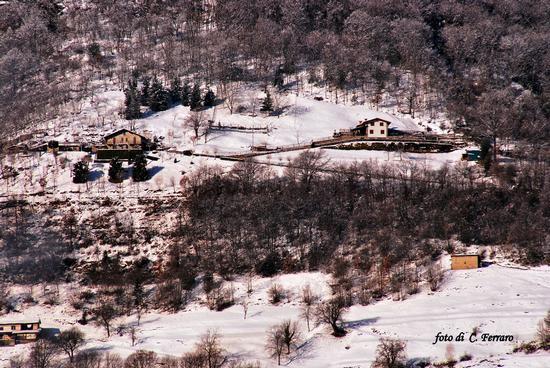NEVE SUI MONTI BERGAMASCHI - Gazzaniga (864 clic)