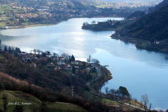 IL LAGO DI ENDINE VISTO DA BIANZANO - Lovere (4116 clic)