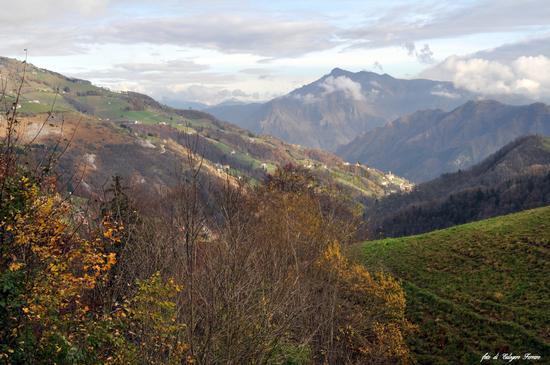 Paesaggio bergamasco, visto dalla Madonna del frassino - Oneta (642 clic)