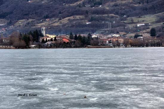 LAGO DI SPINONE ( GHIACCIATO) - Spinone al lago (1970 clic)