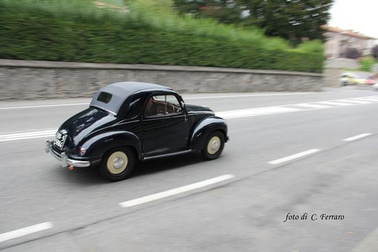 PASSAGGIO DI AUTO D'EPOCA - Clusone (1140 clic)