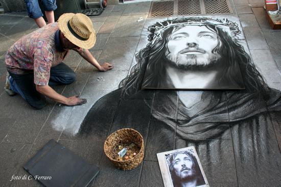ARTISTI DI STRADA - Bergamo (2606 clic)