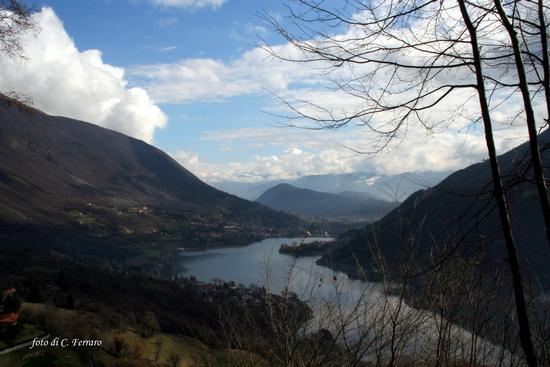 IL LAGO DI ENDINE VISTO DA BIANZANO - Lovere (936 clic)