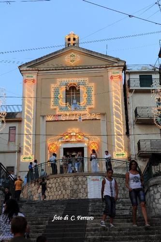 SCALINATA E CHIESA DI SAN GIUSEPPE A RIESI (3155 clic)
