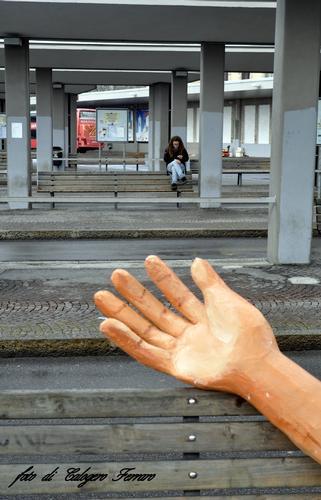 La mano della mezza Quaresima - Bergamo (962 clic)