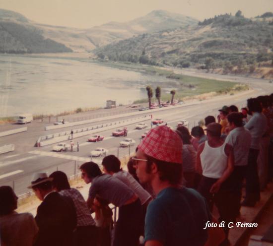 AUTODROMO DI PERGUSA ANNI 70  - Lago di pergusa (4781 clic)
