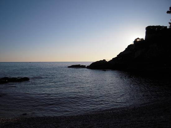 Zoagli- Tramonto in Spiaggia - (2817 clic)