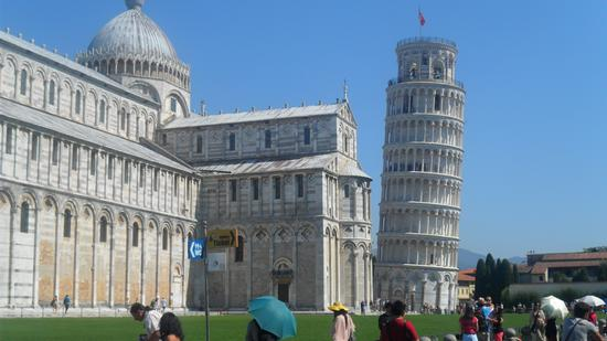 Piazza dei miracoli - PISA - inserita il 16-Sep-11