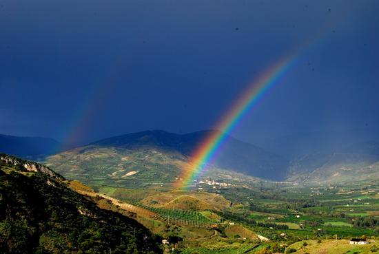 L'arcobaleno - Caltabellotta (6266 clic)