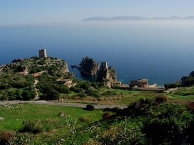 Panoramica sulla Tonnara - Scopello (4183 clic)