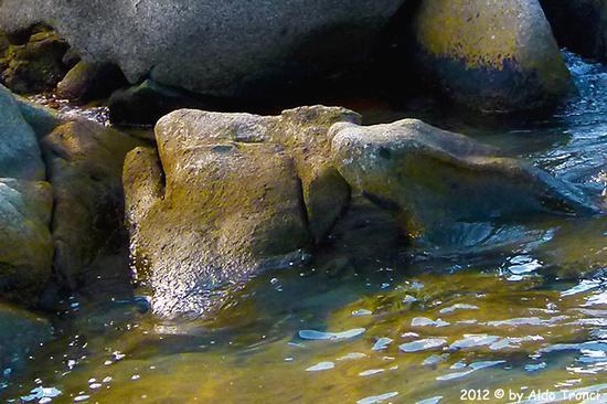 010/25. Golfo di Marinella: Graniti plasmati dal tempo, ovvero ... quando la natura si diverte - Porto rotondo (1490 clic)