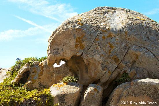 008/25. Golfo di Marinella: Graniti plasmati dal tempo, ovvero ... quando la natura si diverte - Porto rotondo (1165 clic)