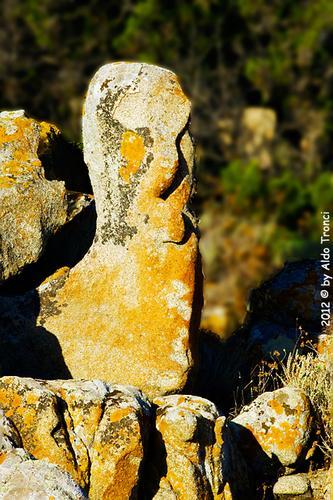 007/25. Golfo di Marinella: Graniti plasmati dal tempo, ovvero ... quando la natura si diverte - Porto rotondo (1340 clic)