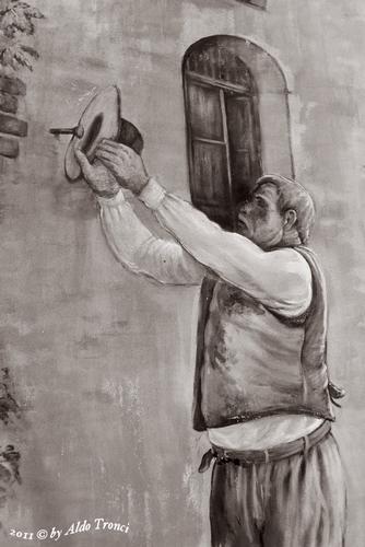 030/30. TINNURA (OR) : i muri parlano  - TINNURA - inserita il 28-Mar-12